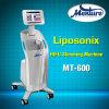El más nuevo Liposonix Hifu cuerpo de 2016 que contornea adelgazando la máquina