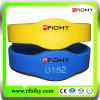 Preço barato Wristband impresso do silicone RFID do logotipo
