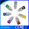무료 샘플 주문 로고 회전대 USB 섬광 드라이브