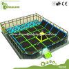 Большое крытое Trampoline с Foam Pit и Dodge Ball, Professional Gymnastic Commercial Trampoline для Sale