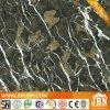 진한 녹색 색깔 (JM63012C)를 가진 대리석 광택 있는 사기그릇 지면 도와