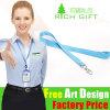 녹색 또는 Beige Strap Custom Metal Hook Nylon Lanyard