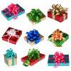 Rectángulo de encargo del ornamento del rectángulo de regalo de la Navidad del precio de fábrica/de regalo de día de fiesta