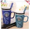 500g Ceramic Starbucks Cup con Spoon per Lover