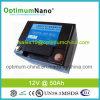 Libre de Mantenimiento 12V 50AH de iones de litio para el sistema de respaldo
