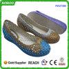 Причудливый Низк-Накрененные пляжем подгонянные ботинки PVC логоса (RW27086)
