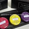 @Travelerの旅行のSeriessの小型有機性大豆のワックスの自然な香料入りの錫の蝋燭
