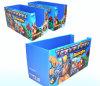 Caja de almacenaje del papel acanalado para los juguetes