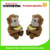 Anillo y collar de empaquetado de encargo plásticos del rectángulo de joyería del mono encantador