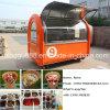 Carro de la venta del alimento del acero inoxidable/carro multiusos del alimento con Ce