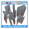 Perfis de alumínio da extrusão das portas do obturador do rolo