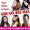 Straightener rápido bem-vindo Certificated Ce do cabelo do revestimento cerâmico do Reto do EL Pelo de Cepillo PARA do baixo preço