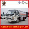 Carro de petrolero del combustible de JAC 4X2 con 6000L Capcacity