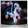 Indicatore luminoso esterno di festa della decorazione LED di natale dei regali di natale del fiore