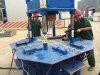 Dy150t de Grote Machine van de Baksteen van de Betonmolen van Soild van de Druk voor Verkoop