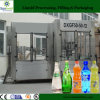 Haustier oder Glass Bottle Aerated Carbonated Drink Bottling Line