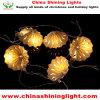 10 LED-warme weiße Farben-Dekoration-Leuchte