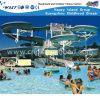 Спортивные площадки скольжения воды оборудования скольжения тематического парка большие (M11-04802)