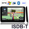 5 tevê Bluetooth avoirdupois do navegador W/ISDB-T Digitas do GPS do carro da polegada dentro