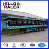 Oplegger van de Container van de tri-As van China 40FT Flatbed