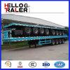 China Tri-Welle 40FT Flachbett-Behälter-Sattelschlepper