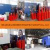 صاحب مصنع عمليّة بيع حارّ برتقاليّ لون [بفك] حركة مرور مخروط