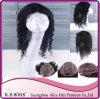 Perruque non transformée de lacet de cheveux humains de Vierge de Brésilien de 100% pleine