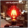 Lantern rouge DEL Filament Bulb pour Holidays (RL-4W)
