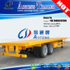 Sale를 위한 두 배 Axles 20feet/20ft Container Flatbed Semi Trailer