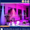De hete Verkopende Decoratie die van het Huwelijk Opblaasbare Kegel Nr 001 met LEIDEN Licht voor Verkoop aansteken