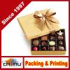 Caja clásica de Ballotin del oro del chocolate (110337)