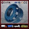 Schlauchlose Stahlrad-Felge, Bus, schwerer LKW-Stahlrad-Nabe, 22.5X9.00 8.25 Zhenyuan Fabrik