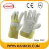 革靴の穀物の産業安全作業皮手袋(120042)