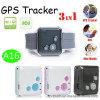 Inseguitore portatile recentemente progettato di GPS con il tasto di SOS (V16)