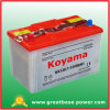 Nx120-7 (12V80AH) Dry Charged Battery para Car japonês