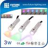 Shenzhen 3 anni della garanzia di colore completo di torcia elettrica a pile Emergency portatile 3W di RGB LED