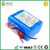 Het Pak van de Batterij van het Lithium van slechts 6 Cellen 12V 5ah