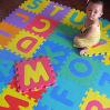 Enclavamiento EVA espuma del alfabeto Letras Números Suelo Juego Mat Puzzle Jigsaw EVA Mat
