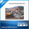 Pd-Y90 Hydraulic Excavator Mounted Drill Rig pour Drilling