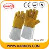 Натуральной кожи промышленной безопасности сварочных работ Перчатки (11119)