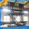 Home Garage Parking를 위한 휴대용 Hydraulic Floor Scissor Two Car Lift Platfrom