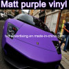 Matt Purple Car Color Change Film, Car Wrapping Film, 1.52X30m
