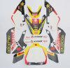 Il nuovo pozzo della sporcizia Bikes il motocross degli autoadesivi della decalcomania dei grafici del mostro di Kawasaki Klx110 3m