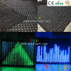 Berufsanblick-feuerfester Trennvorhang der disco-Stufe-Partei-Effekt-Dekoration-LED