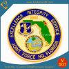 Moneta su ordinazione militare di sfida del ricordo con la doratura elettrolitica