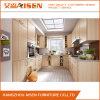 Modules de cuisine à la maison personnalisés de membrane de PVC de meubles