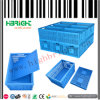 Folding di plastica Stackable Multifunctional Crate con Lid