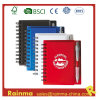 PVC Cover Notebook con Ball Pen