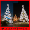 LED Outdoor Christmas Decoration Light 3D Motif Ball Tree