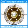Одиночный каменный абразивный диск абразива чашки диаманта